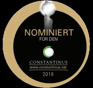 Unternehmerkraftwerk nominiert zum Constantinus Award 2019