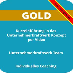 Unternehmerkraftwerk Abo Paket GOLD